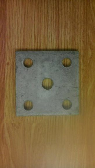 5 hole tie plate