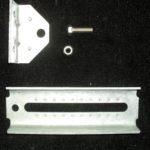 galvanized bolster bracket w/tipper bracket
