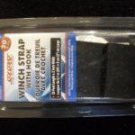 winch strap 20' grey