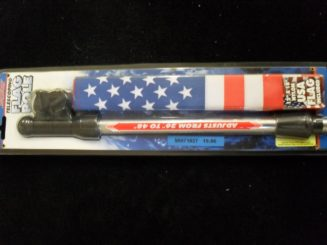 telescoping flag pole w/ U.S. flag